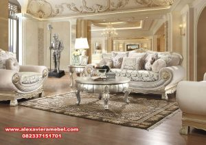 harga sofa tamu mewah klasik terbaru srt-008