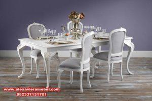 meja makan minimalis modern franch skm-001
