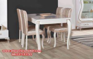 meja makan sederhana modern minimalis, meja makan minimalis modern, harga meja makan olympic, daftar harga meja makan, meja makan minimalis 4 kursi