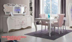 model meja makan modern minimalis skm-003