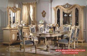 Daftar Harga Meja Makan Mewah Klasik Modern Jepara Terbaru SKM-007