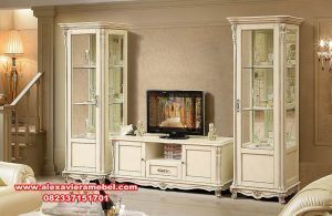 Set Bufet TV Model Minimalis Jepara Terbaru SBT-001