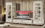 Bufet tv duco putih minimalis modern SBT-007