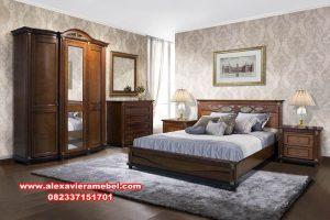 desain 1 set tempat tidur jati spanyol, kamar set mewah terbaru, set tempat tidur mewah modern, harga kamar set mewah, kamar set jati, kamar set Jepara model terbaru, harga tempat tidur mewah modern, kamar set pengantin
