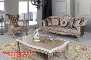 Harga Kursi Sofa Minimalis Jepara Terbaru SRT-012