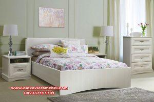 Jual kamar set minimalis putih ivory belaya kS-003
