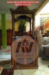 Jual Mimbar Masjid Jati Terbaru Mpm-011