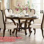 meja makan modern mewah jessica terbaru, meja makan mewah, harga set meja makan mewah, meja makan mewah modern, model meja makan klasik modern
