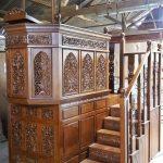 mimbar masjid jati jepara terbaru, mimbar masjid, mimbar masjid sedehana, mimbar masjid ukiran jepara, mimbar masjid jati