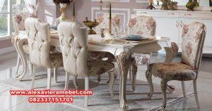 meja makan modern mewah, meja makan mewah, meja makan jati, meja makan modern, meja makan klasik mewah, set kursi makan klasik mewah, meja makan klasik, meja makan minimalis