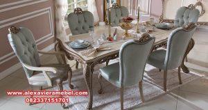 Model Set Meja Makan Sederhana Trendy SKM-014