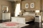Set kamar tidur minimalis duco putih terbaru spalya KS-006