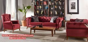 Set sofa tamu minimalis modern terbaru SRT-025