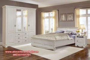 Set tempat tidur jati minimalis modern duco KS-008