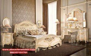 Set tempat tidur klasik eropa camere letto terkini KS-002