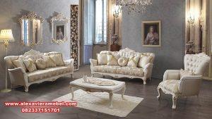 sofa tamu klasik modern terbaru srt-011