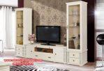 bufet tv minimalis mewah kayu mahoni berkualitas sbt-014