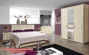 Desain set kamar tidur minimalis duco mewah Ks-012