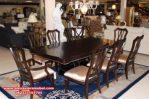 Meja makan mewah minimalis jati Jepara Skm-028