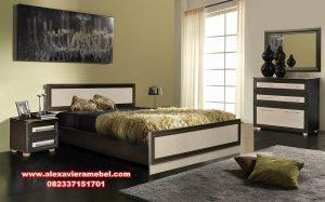 Set kamar tidur minimalis rustik modern nika Ks-014