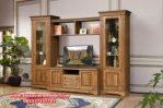 Bufet tv jati minimalis rustic antik Sbt-018
