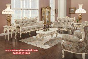 Daftar harga sofa ruang tamu mewah duco romawi Srt-028