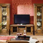 Set bufet tv minimalis jati natural mewah, harga set bufet tv, set bufet tv, set bufet tv minimalis, set bufet tv jati, jual bufet tv berkualitas, bufet tv terbaru