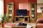 Set bufet tv minimalis jati natural mewah Sbt-016