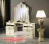 Set meja konsul rias modern mewah putih Mkr-024