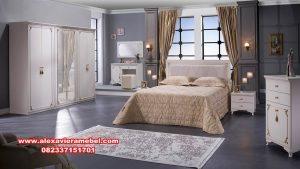Kamar set minimalis putih model terbaru Ks-020