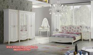 Set kamar tidur apartemen minimalis terbaru Ks 0-19