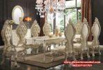 Set meja makan mewah modern upin ipin Skm-037