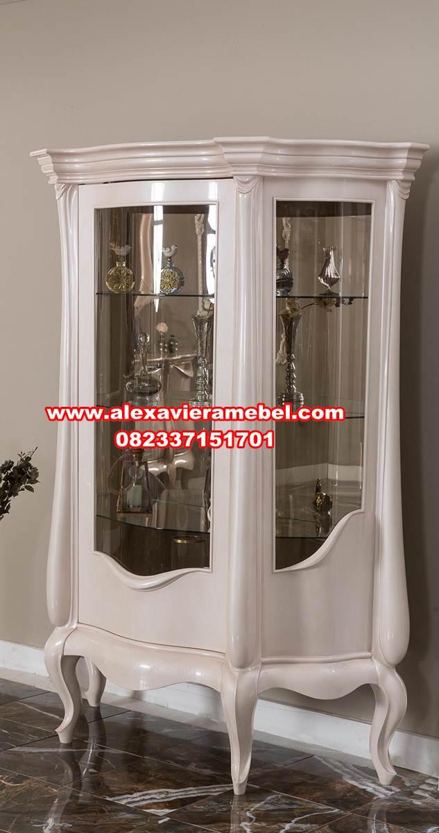 model lemari hias modern klasik damla terbaru, lemari pajangan, lemari hias kristal modern, lemari hias mewah, lemari hias minimalis, lemari hias klasik