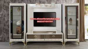 Model set bufet tv minimalis modern arma odalar Sbt-024
