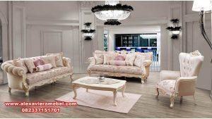 Set sofa ruang tamu modern mewah kamelya Srt-041