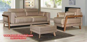 Sofa minimalis jati Jepara eshli terbaru Srt-036