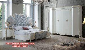 Model set tempat tidur mewah modern duco Syahreino Ks-026