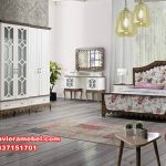 desain set tempat tidur jati minimalis modern serkan Ks-028