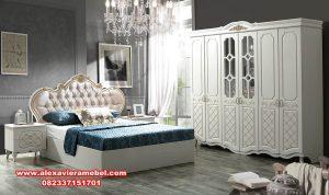 kamar set minimalis modern putih firuze Ks-027