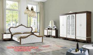 Set kamar tidur minimalis retro country Ks-032