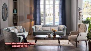 1 set sofa tamu minimalis modern mewah istikbal Srt-044