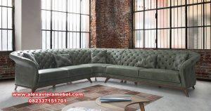 Gambar sofa tamu sudut modern minimalis Srt-045
