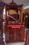 model mimbar masjid kubah jati Jepara Mpm-020