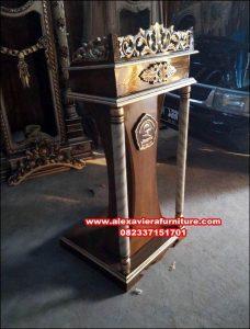 Podium pidato khotib masjid Mpm-021