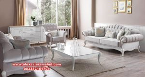 Set sofa ruang tamu barselona klasik modern Srt-042