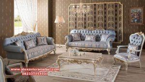 Set sofa tamu kursi tamu klasik mewah mervindo Srt-049