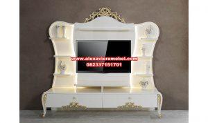 set bufet tv duco putih modern eftelya, set bufet tv modern, bufet tv modern, bufet tv duco, bufet tv murah, bufet tv Jepara
