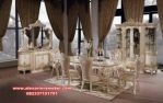 Set meja kursi makan klasik mewah Ganesha Skm-046