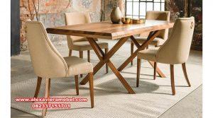 set meja makan terbaru minimalis madrid, meja makan mewah minimalis, model meja makan sederhana, meja makan jati, meja kursi makan, daftar harga meja makan