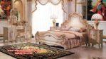 Kamar set pengantin klasik ukiran duco termewah adriana Ks-043